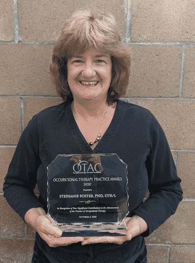 dr. stephanie occupational therapy practice award