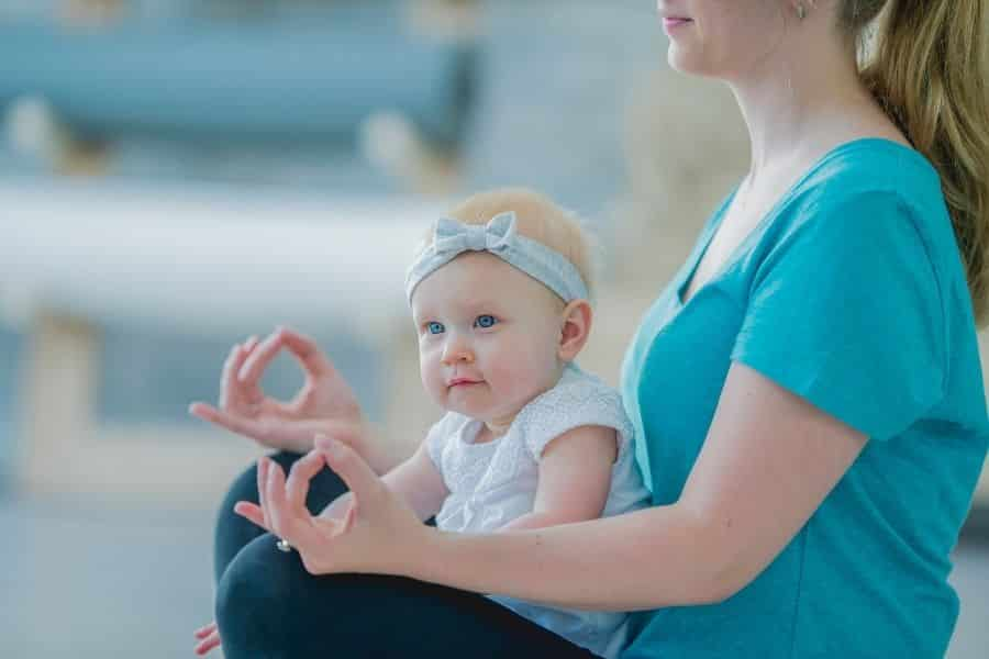 Yoga terms for moms